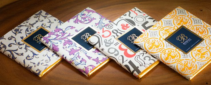 Rossi decorative italian papers for chocolate packaging