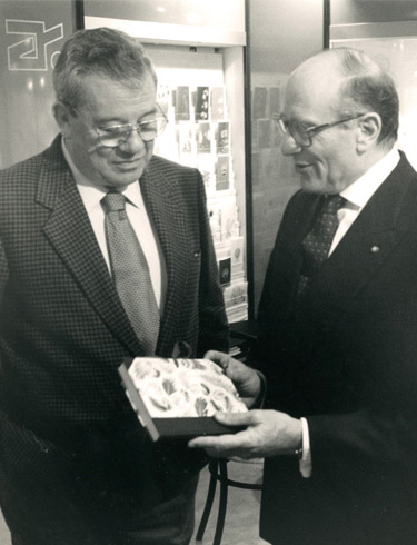 Giorgio Rossi Umberto Vattani Italian Ambassador Germany