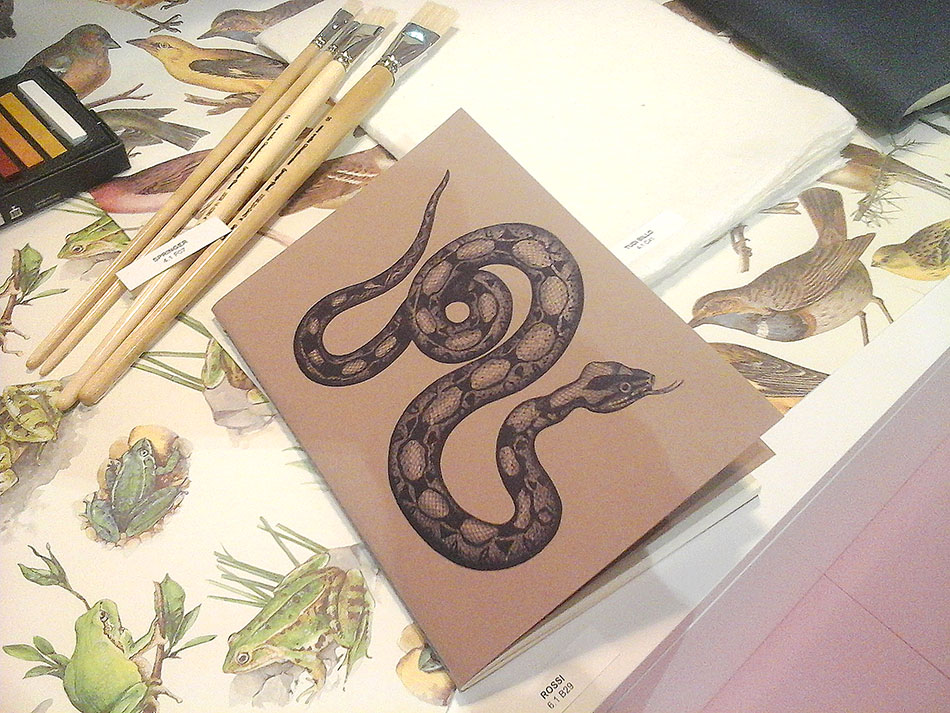 Snake Notebook, design by Rossi1931 selected for Paperworld Trends 2017/18 - Solid Grade