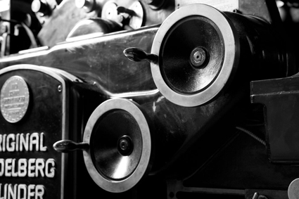Original Heidelberg cylinder machine