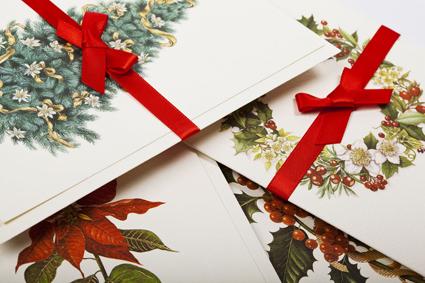 italian cards holiday christmas