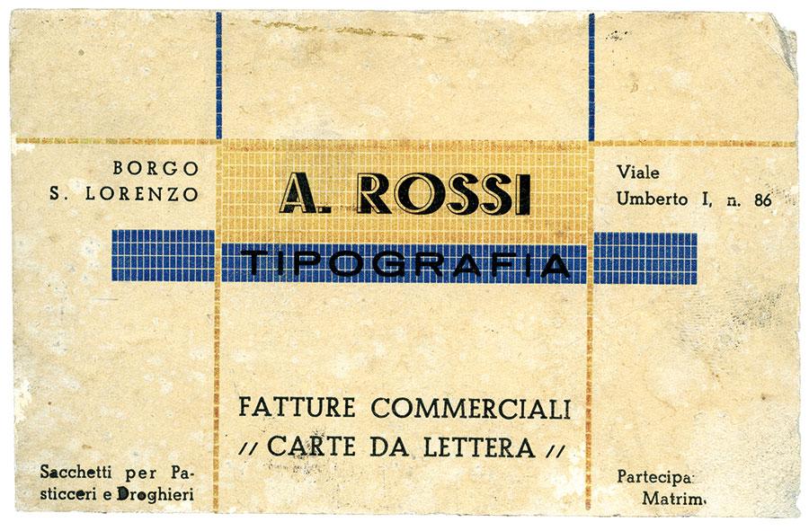 Tipografia Rossi1931