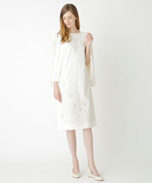 Amaca Dress with Rossi1931 Crt 903 Decorative Papers