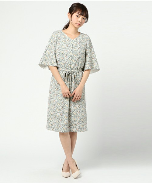 Amaca Dress with Rossi1931 Crt 002 Decorative Papers