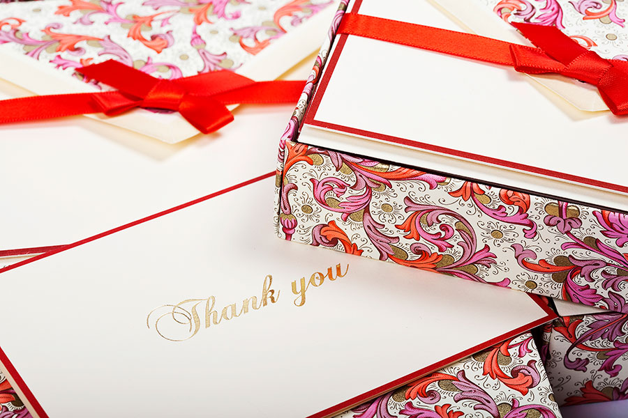 Thank You Cards Rossi1931 Stationery