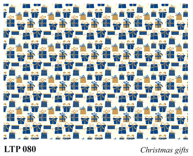 Christmas wrapping papers LTP 080 Christmas Gifts